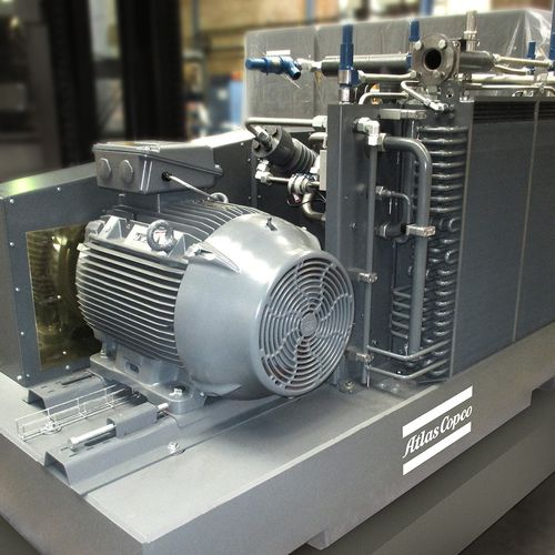 air compressor / natural gas / stationary / electrically-powered