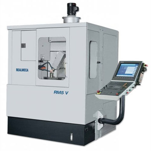 high-speed CNC machining center / 5-axis / with swiveling spindle / for glass