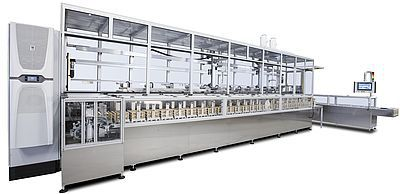 ultrasonic cleaning system / automatic / process / automatic