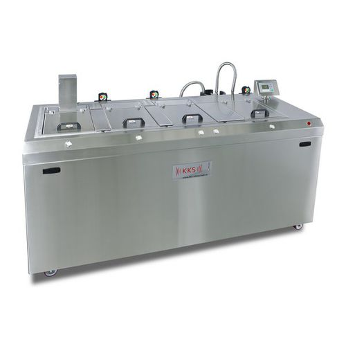 ultrasonic cleaning machine / manual / industrial / compact
