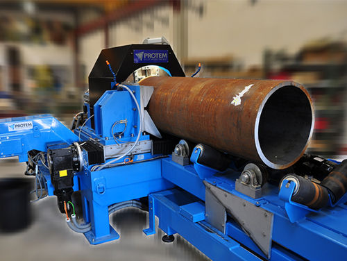 semi-automatic orbital tube-cutting machine - PROTEM