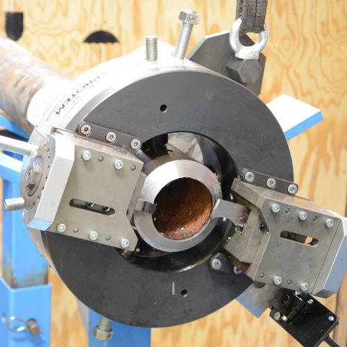 steel cutting machine / for aluminum / for titanium / for iron