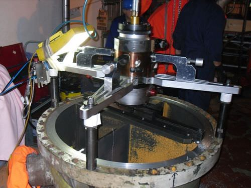 2-axis turning machine / mobile / universal / for valves and flanges XP 600  PROTEM