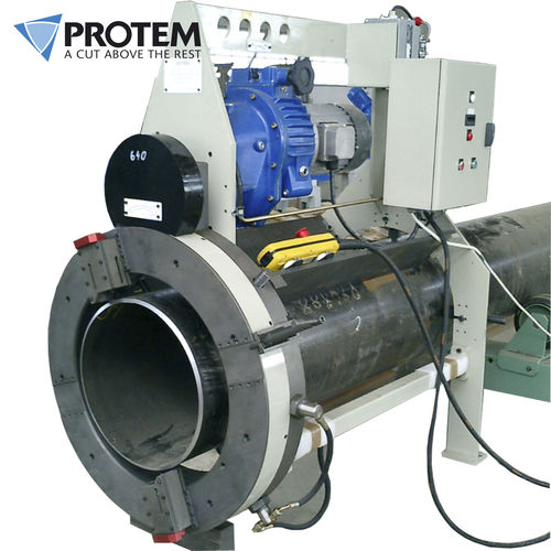 pipe cutting and beveling machine - PROTEM