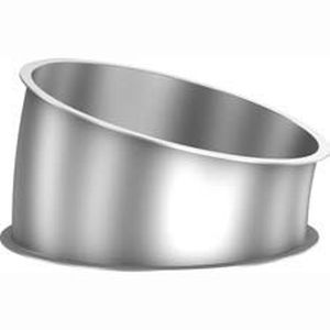 15° angle fitting / stainless steel / galvanized steel