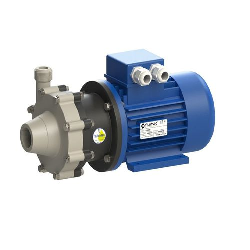 magnetic-drive pump / for chemicals / for food products / fuel oil