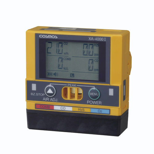 flammable gas detector / CO / O2 / H2S