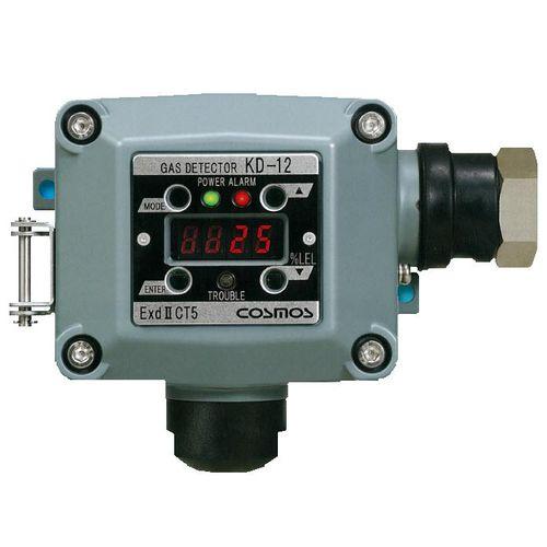 gas leak detector / explosion-proof / with digital display