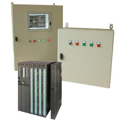 PLC-controlled alarm unit