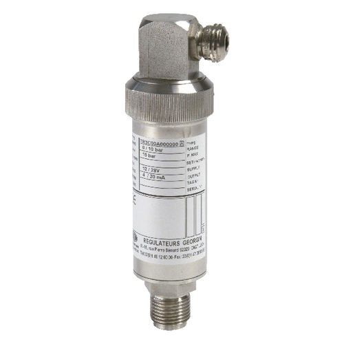 Relative pressure transmitter / absolute / membrane / strain gauge TR, TA-02 series  GEORGIN S.A.