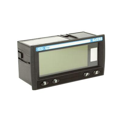 current indicator / digital / panel-mount / 4-20 mA