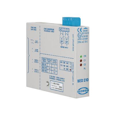 24VDC solid state relay / 48VDC / 110VAC / DIN rail