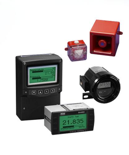 temperature indicator / fieldbus / digital / panel-mount