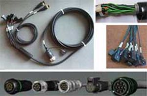 control cable harness / power distribution