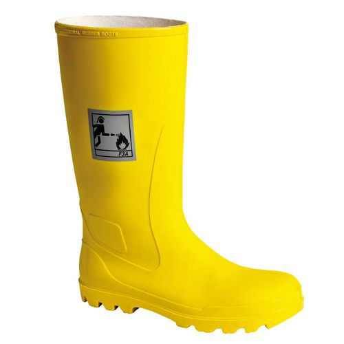 anti-slip safety boots / waterproof / chemical protection / anti-perforation