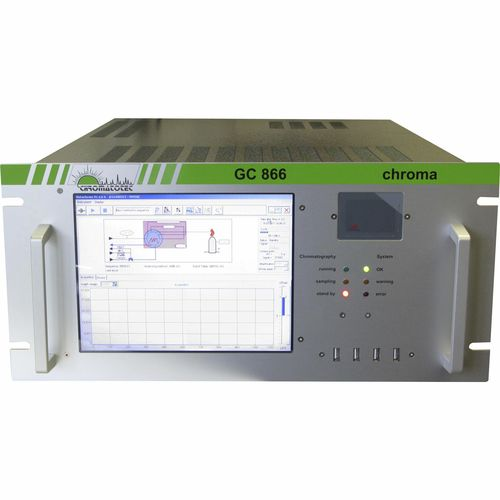 gas chromatograph / FID / FPD / laboratory
