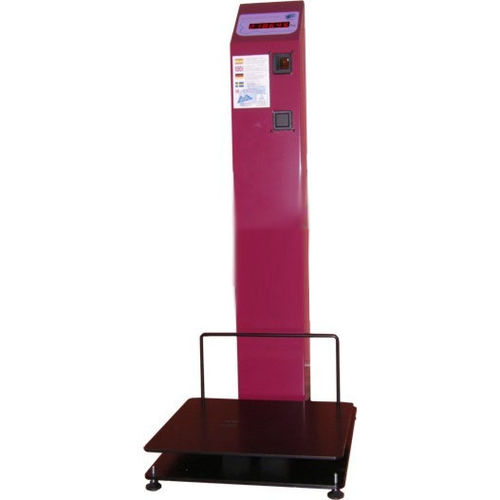 platform scale / floor / with LED display