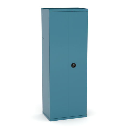 storage cabinet / floor-mounted / double-door / single-door