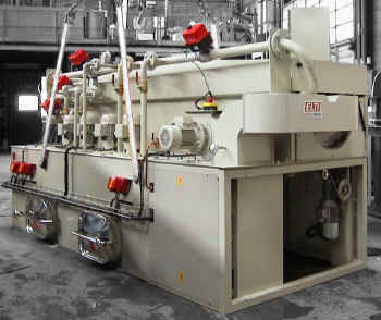 solvent cleaning machine / water / automated / automatic