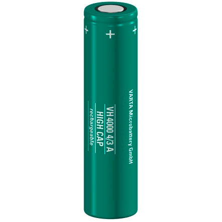 Ni-MH rechargeable battery / AAA type / high-capacity