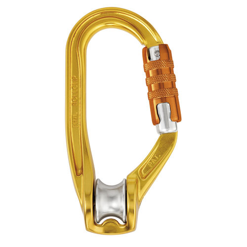 Aluminum pulley ROLLCLIP PETZL SECURITE