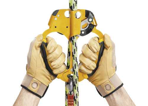 hand rope clamp