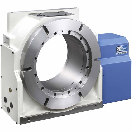 motor-driven rotary table / vertical / for machine tools / compact
