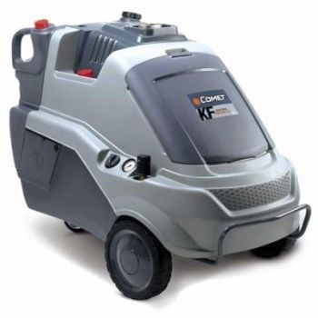 hot water cleaner / electric / mobile / high-pressure