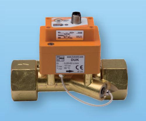 ultrasonic flow meter / for liquids / digital / in-line