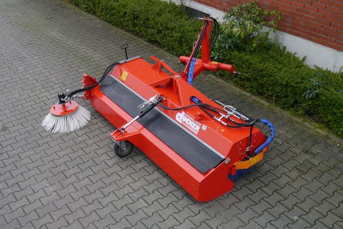 tractor sweeper / for forklift trucks / for loaders / hydraulic