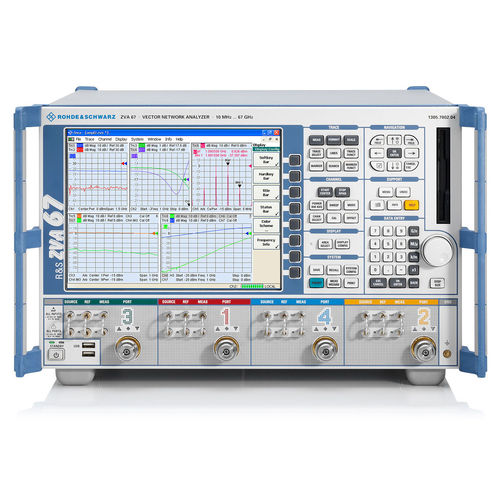 Vector network analyzer / harmonic / noise / intermodulation R&S®ZVA series  Rohde Schwarz