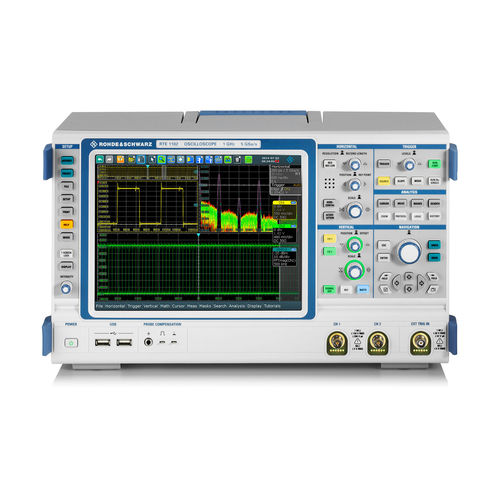 mixed-signal oscilloscope / bench-top / multi-channel / deep memory