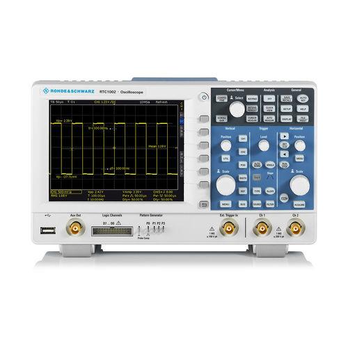 digital oscilloscope / bench-top / multi-channel