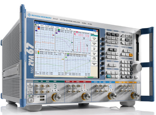 Vector network analyzer / harmonic / noise / intermodulation R&S®ZVA series  Rohde Schwarz