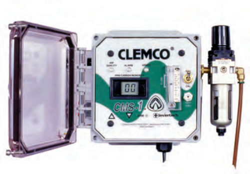 Gas detector / carbon monoxide / with audible alarm / wall-mounted CMS-1 CLEMCO INDUSTRIES