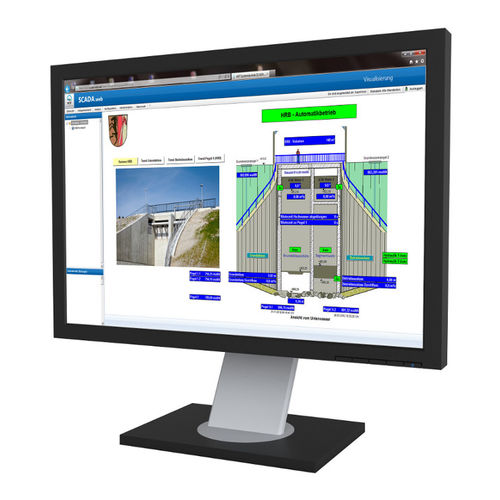 remote surveillance software / SCADA / for water treatment applications / web-based