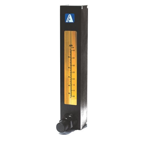 variable-area flow meter / for air / for water / economical