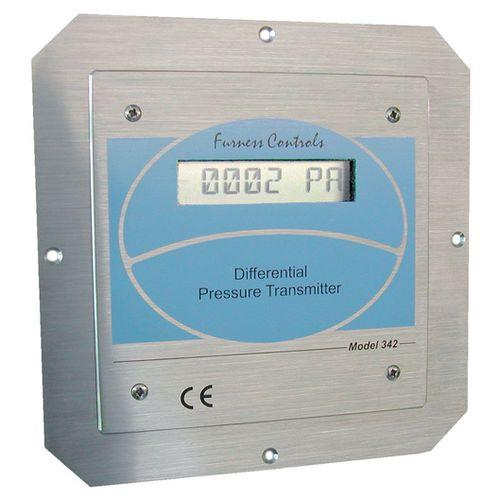 differential pressure transmitter / analog / flush diaphragm / stainless steel