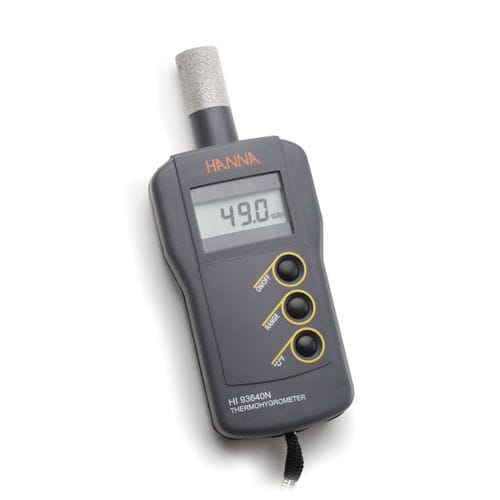 digital thermo-hygrometer / compact / portable / relative humidity