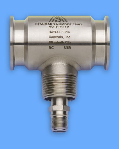 turbine flow meter / for liquids / clamp-on / sanitary