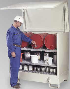 steel intermodal container / hazardous materials