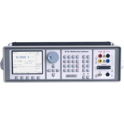 Temperature calibrator / multifunction / current / voltage M142 Meatest spol. s r.o.