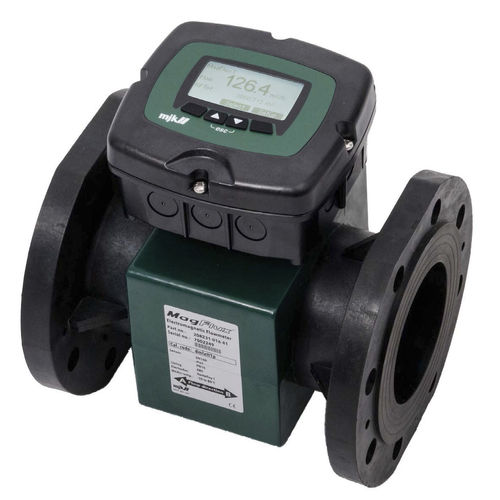 electromagnetic flow meter / for chemicals / for conductive liquids / digital