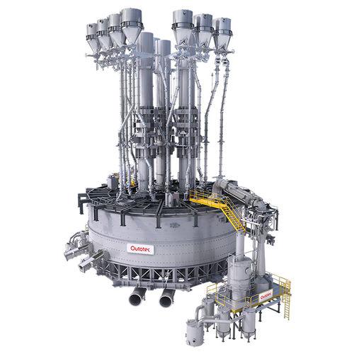 slag remelting furnace / pit / electric / CO2
