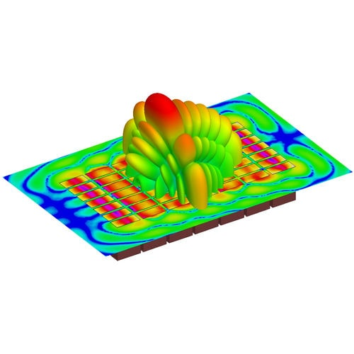 Electromagnetic field simulation software / 3D ANSYS HFSS ANSYS