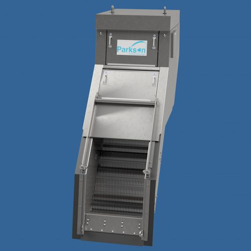 bar screen / step / for wastewater treatment / fine