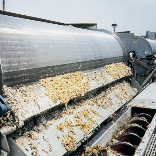 shaftless screw conveyor / for slurries / spiral / automatic