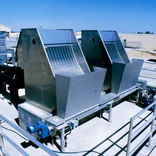 static screener / solid/liquid / for wastewater treatment