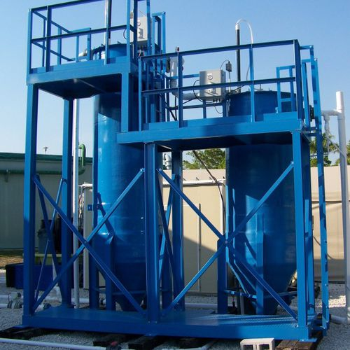 wastewater treatment filter / high-flow / modular / continuous