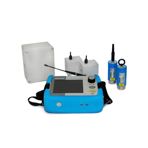 water leak detector / automated / portable